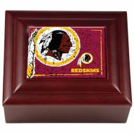 Washington Redskins Wood Keepsake Box