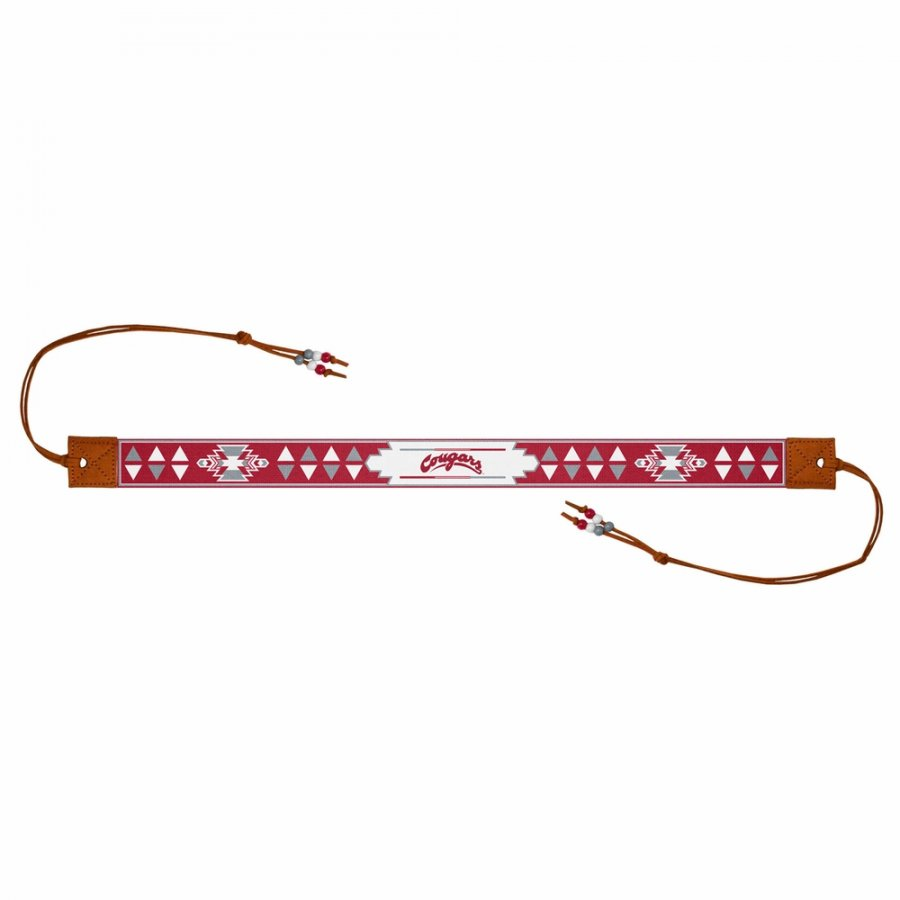 Washington State Cougars Beaded Headwrap