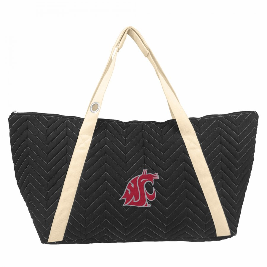Washington State Cougars Chevron Stitch Weekender Bag