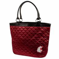 Washington State Cougars Quilted Tote Bag