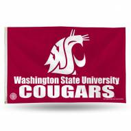Washington State Cougars 3' x 5' Banner Flag
