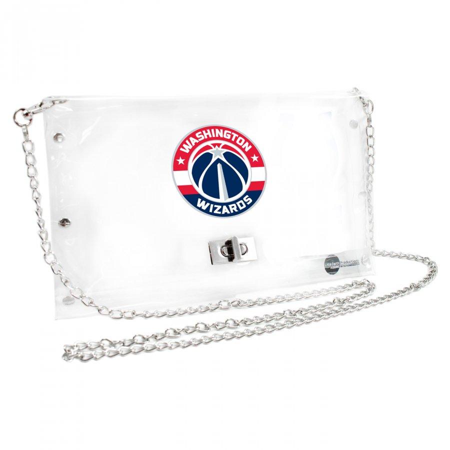 Washington Wizards Clear Envelope Purse