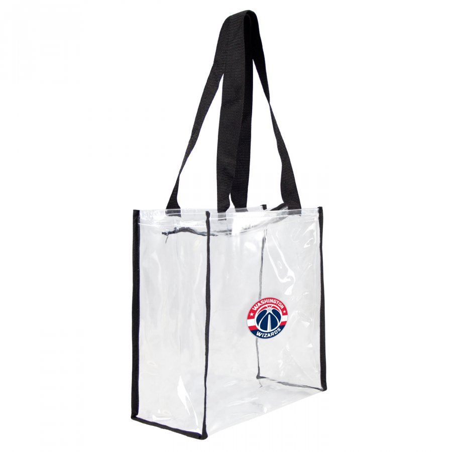 Washington Wizards Clear Square Stadium Tote