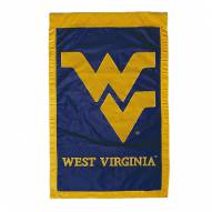 "West Virginia Mountaineers 28"" x 44"" Double Sided Applique Flag"