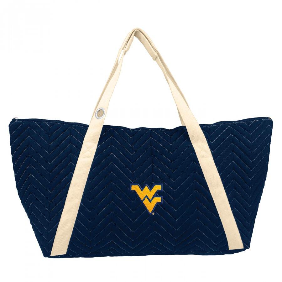 West Virginia Mountaineers Chevron Stitch Weekender Bag