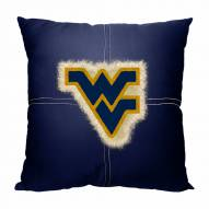 West Virginia Mountaineers Letterman Pillow