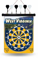 West Virginia Mountaineers Magnetic Dart Board