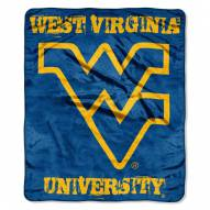 West Virginia Mountaineers Micro Grunge Blanket