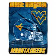 West Virginia Mountaineers Micro Raschel Overtime Blanket