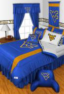 West Virginia Mountaineers NCAA Sideline Bed Set