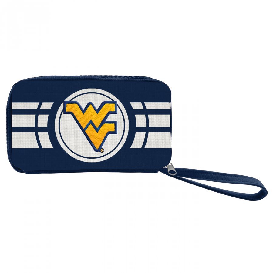 West Virginia Mountaineers Ripple Zip Wallet