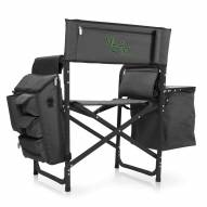 William & Mary Tribe Gray/Black Fusion Folding Chair
