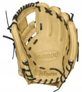 "Wilson A2000 1786 Blonde 11.5"" Infielder Baseball Glove - Right Hand Throw"