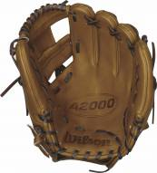"""Wilson A2000 Dustin Pedroia Game Model 11.5"""" Infield Baseball Glove - Right Hand Throw"""