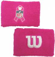 "Wilson Breast Cancer Awareness 2"" Wrist Band"