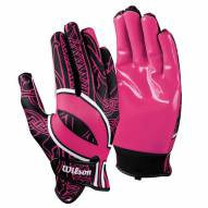 Wilson Hope Adult Football Receiver Gloves