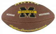 Wilson NCAA Michigan Mini Soft Touch Football
