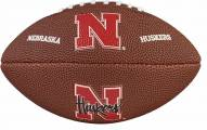 Wilson NCAA Nebraska Mini Soft Touch Football