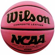 Wilson NCAA Replica Pink Intermediate Game Basketball (28.5)