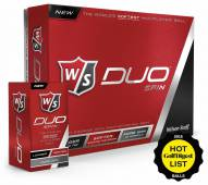 Wilson Staff DUO Spin Golf Balls - 12 pack
