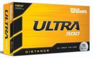 Wilson Staff Ultra 500 Distance Golf Balls - 15 pack