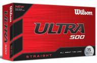 Wilson Staff Ultra 500 Straight Golf Balls - 15 pack