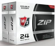 Wilson Staff ZIP Golf Balls - 24 pack