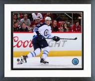 Winnipeg Jets Adam Lowry 2014-15 Action Framed Photo