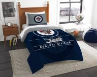 Winnipeg Jets Draft Twin Comforter Set