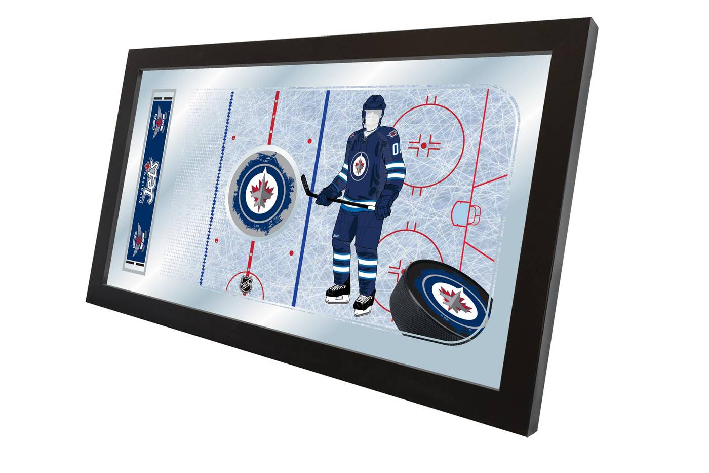 Winnipeg Jets Hockey Rink Mirror