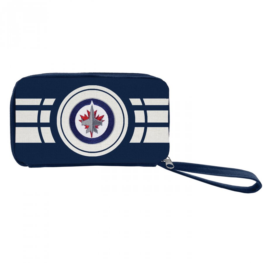 Winnipeg Jets Ripple Zip Wallet