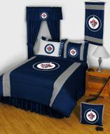 Winnipeg Jets Sidelines Bed Comforter