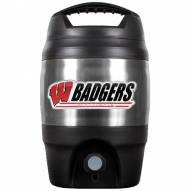 Wisconsin Badgers 1 Gallon Beverage Dispenser