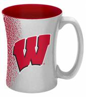 Wisconsin Badgers 14 oz. Mocha Coffee Mug