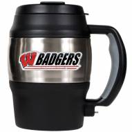 Wisconsin Badgers 20 Oz. Mini Travel Jug