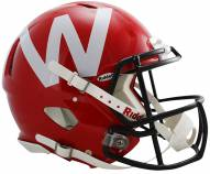 Wisconsin Badgers 2012 Riddell Speed Full Size Authentic Football Helmet