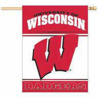 "Wisconsin Badgers 27"" x 37"" Banner"