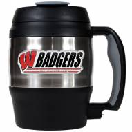 Wisconsin Badgers 52 oz. Stainless Steel Travel Mug