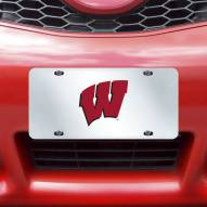 Wisconsin Badgers Acrylic License Plate