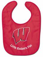 Wisconsin Badgers All Pro Little Fan Baby Bib