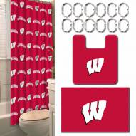 Wisconsin Badgers Bathroom Set