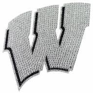 Wisconsin Badgers Bling Car Emblem