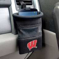 Wisconsin Badgers Car Phone Caddy