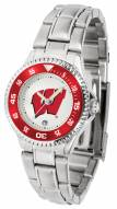 Wisconsin Badgers Competitor Steel Women's Watch