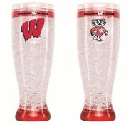 Wisconsin Badgers Crystal Pilsner Glass