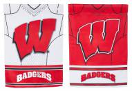 Wisconsin Badgers Double Sided Jersey Garden Flag