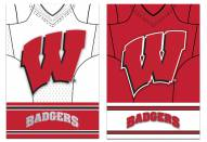 Wisconsin Badgers Double Sided Jersey Flag