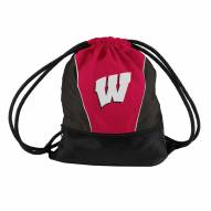 Wisconsin Badgers Drawstring Bag