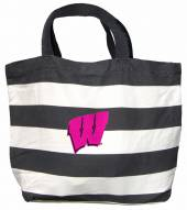 Wisconsin Badgers Drive Tote Bag