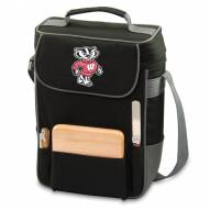 Wisconsin Badgers Duet Insulated Wine Bag